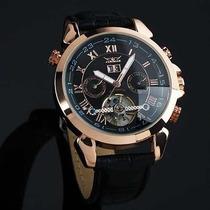 Relógio Luxo Jaragar Tourbillon Masculino