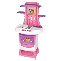 Cozinha Infantil Fogaozinho Pia Solta Agua Magic Toys