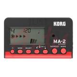 Metronomo Digital  Portátil Korg Ma-2 Bkrd