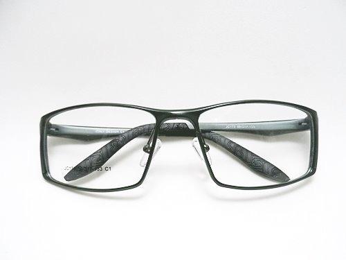 8eaaa097a0539 Armação Óculos P  Grau Masculino Grande Aluminio Aro Fechado - R ...