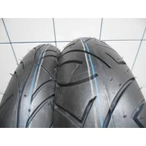 Pneu Pirelli 110 70 17 + 140 70 17 O Par Sport Demon Cb 300