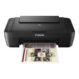 Impressora A Cor Multifuncional Canon Pixma Mg3010 Com Wi-fi 110v/220v Preta