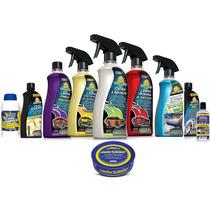 Kit Limpeza Automotiva Autoshine - Completo C/ 10 Produtos