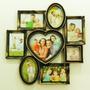 Quadro Painel 8 Fotos Porta Retratos Love Amor Coração Top
