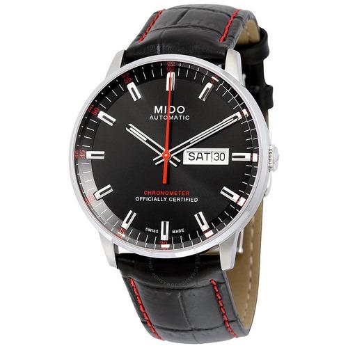 34b264e1c66 Relogio Mido M0214311605100 Commander Ii Preto Automatico