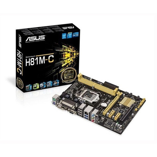 Mb P / Intel H81, Socket 1150 4° Geração, 16gb, Ddr3, 1pci, 2