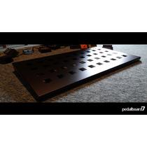 Pedal Board Em Alumínio Para Pedal De Guitarra, Baixo, Etc