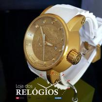 61561680277 Relógio Invicta Yakuza Automático 19546 Pulseira Branca à venda em ...