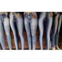Lote Com 6 Calça Jeans Hot Pants Atacado Para Revenda