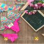Biquíni Flor Crochê Matizado Calcinha Ripple Frete Gratis