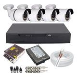 Kit Câmeras De Segurança Residencial Full Hd Acesso Internet