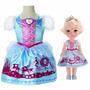 Boneca Disney Princess - Cinderela Com Fantasia - Mimo