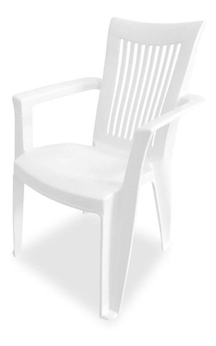 Cadeira Plástica Grande Royal Branca Dolfin