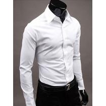 Camisa Social Slim Fit Masculina Pronta Entrega Importada.