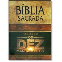 Bíblia Sagrada Os Dez Mandamentos - Edição Especial