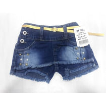 0ec12257ed Busca Short saia jeans infantil com os melhores preços do Brasil ...