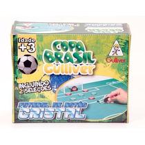 Futebol De Botão C/ 2 Seleções - Brasil X Argentina Gulliver