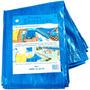 Lona Carreteiro De Polietileno 5m X 3m Azul Teixeira 09119