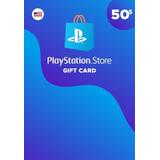 Playstation Giftcard Psn Contas Americana $50 Envio Imediato