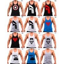 ded8d61d48296 8 Regatas Cavada Camiseta Masculina Academia Fitness Atacado à venda ...