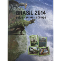 Coleção Anual De Selos Dos Correios Completa Do Ano 2014