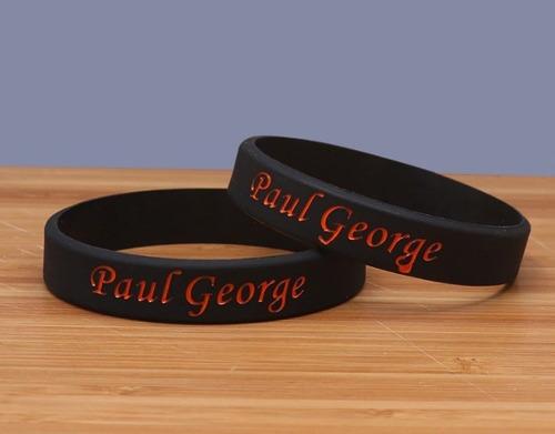 e67266f40a3 Pulseira Paul George Oklahoma City Thunder Nba Basquete  13. R  20