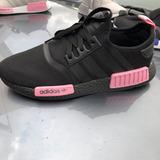 adidas Nmd Runner R1 Preto/rosa Corrida Femininofrete Grátis