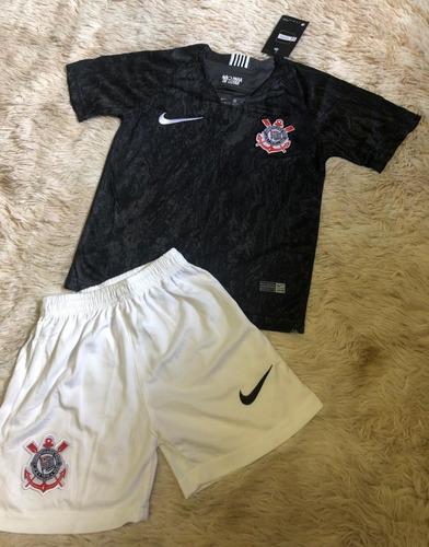 Conjunto Infantil Do Corinthians 2018 - Produto Oficial 63f6aaa68924a