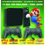 Retro Tv Box   Emulador Video Game Multijogos Jogos Antigos