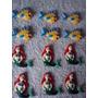 30 Lembrancinhas Princesas Pequena Sereia E Linguado Biscuit