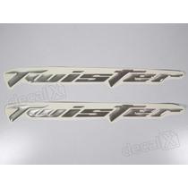 Adesivos Twister Resinado 2006 - 2008 Prata - Decalx