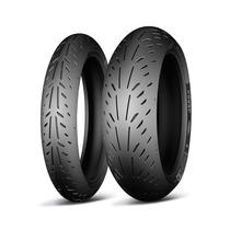 Pneu Par 200/55-17-120/70/17 Michelin Power Super Sport Evo