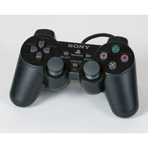 Controle Ps2 Sony 100% Original Dual Shock 2 Testado Preto
