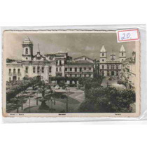 7224 Brasil Ba Salvador Foto Postal Antigo