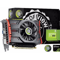 Placa Vídeo Geforce Gtx 650 2gb Gddr5 128 Bits Point Of View