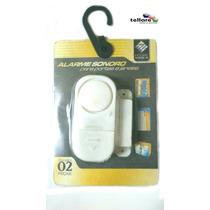 Alarme Sonoro Sensor De Presenca Para Porta Portoes Janelas