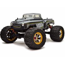 Novo Automodelo Eletrico Kyosho Mad Force Ve Novo Rádio 2.4