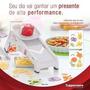 Tupperware - Super Chef/mandolin/fatiador/cortador/queijo