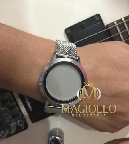 Relógio Euro Feminino Fashion Fit Prata Eubj3407ab 3p. Preço  R  265 9 Veja  MercadoLibre 230ab3057f