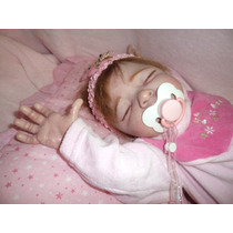 Bebê Reborn Menina Dormindo
