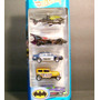 Pack Batman 5 Hot Wheels 1:64 Carros Miniaturas Réplicas Set