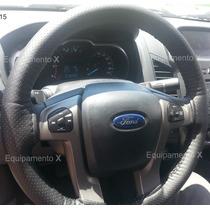 Capa Revestimento De Proteção Volante Ford Ranger Couro