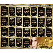 Curso Cabeleireiro De La Lastra Coleção 19 Dvd Ouro Especial