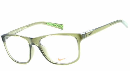 430055145 Armação Para Óculos De Grau Nike 7097 300 Masculina Original. R$ 549