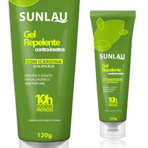 Repelente Sunlau - Icaridina Gel 120g (igual Exposis)
