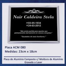 Placa, Lápide Para Jazigo / Túmulo / Cemitério - 080