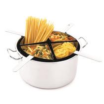 Espagueteira Inox 4 Divisões 10l Xpa120
