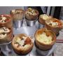 24 Forma Pizza Cone+2 Bases Para Assar+10 Suportes P/ Servir