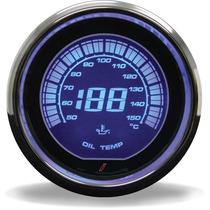 Temperatura De Óleo Iridium Azul 52mm (c/ Sensor Elétrico) D