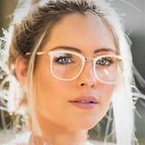 Armação Óculos De Grau Quadrada Feminina Geek Retrô 2019 Top 90df11525c